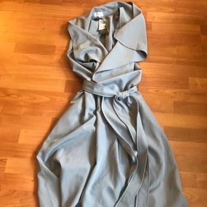 Blue/Grey Chicest of Them All Long Vest